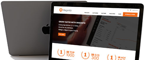 Magento in stappen